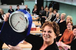 Groepsbijeenkomst Weight Watchers