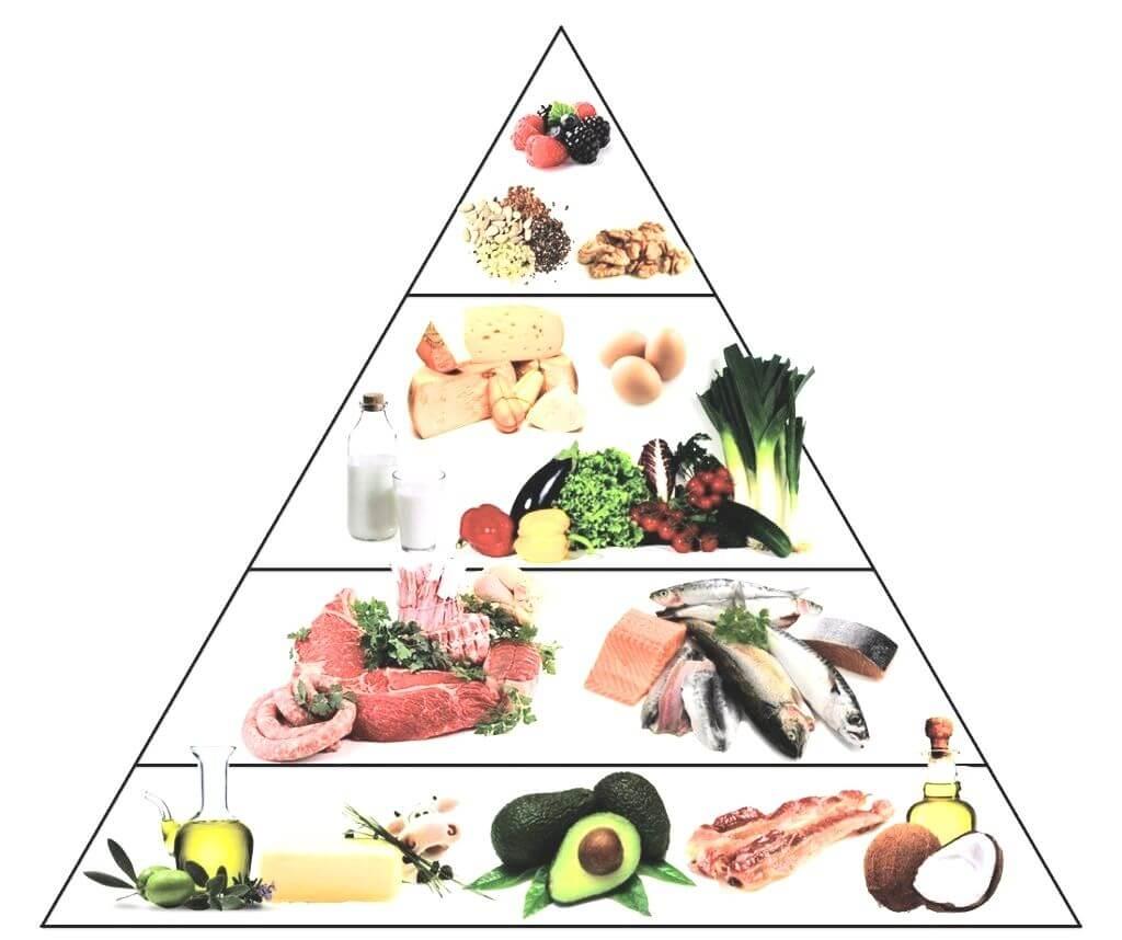 Menü einer ketogenen Diät