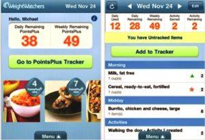 Diät-Punktetabelle zum Abnehmen